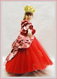 Платье королевы на прокат
