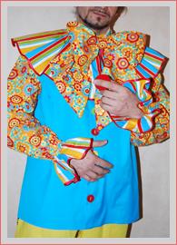 Рубаха для клоуна своими руками