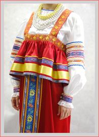 Русско народная блузка своими руками