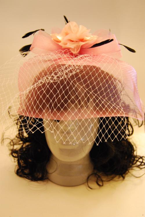 Как самой сделать шляпку-таблетку с вуалью
