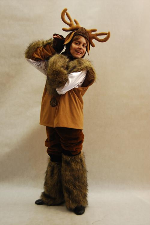 Сделать костюм оленя своими руками