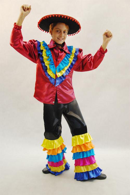 Мексиканский костюм для мальчика своими руками6