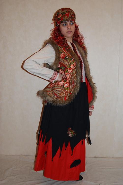 Модная баба яга костюм