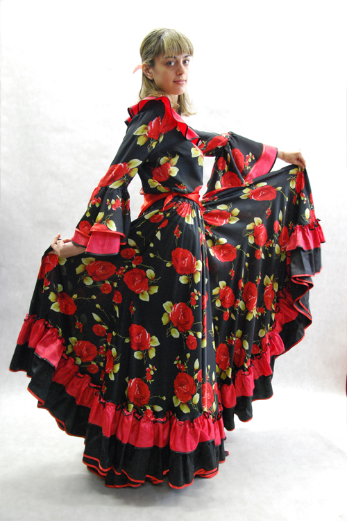Как сделать цыганский платок