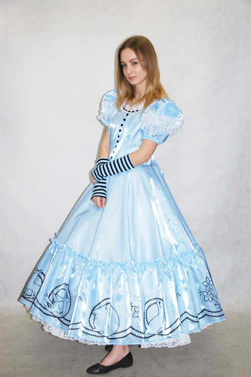 Платье алисы в стране чудес прокат