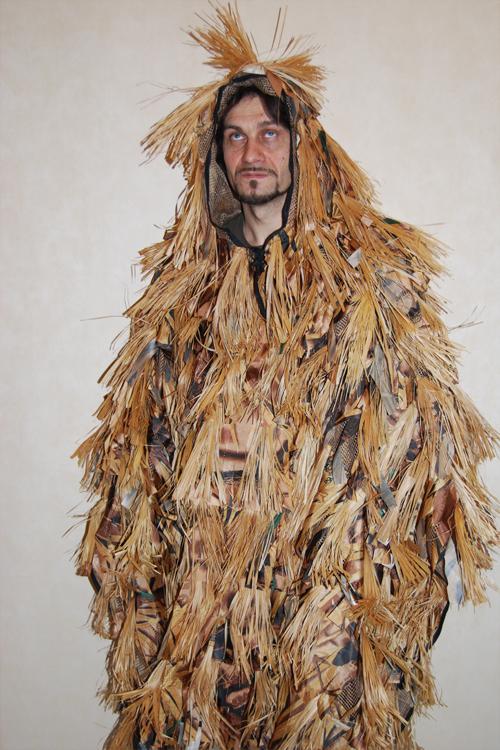 Как сделать костюм лешего своими руками в домашних условиях