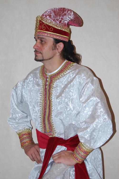 Как сделать костюм ивана царевича своими руками