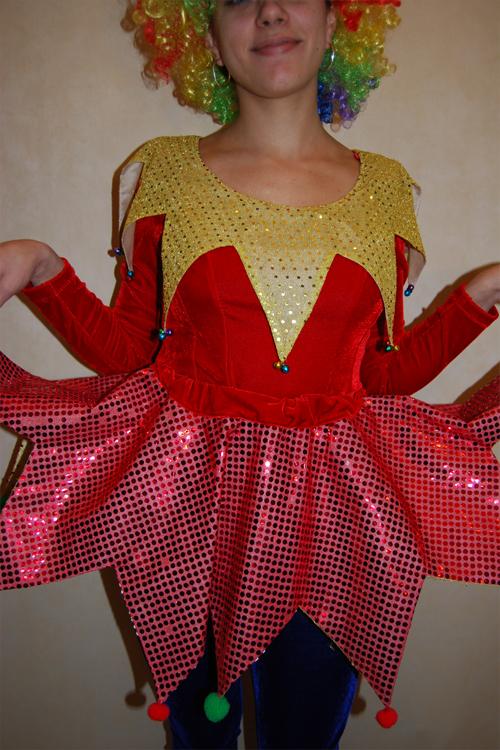 Как сделать костюм клоунессы своими руками 45