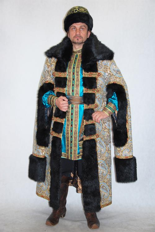 Как сшить костюм боярина