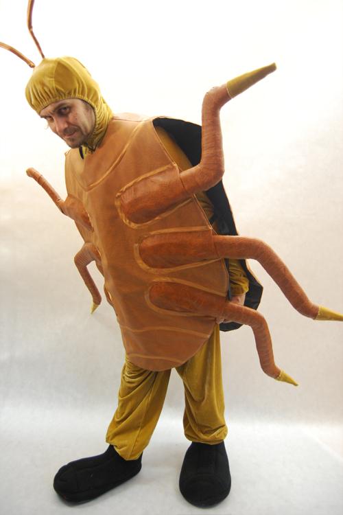 Костюм таракан сделать своими руками 36