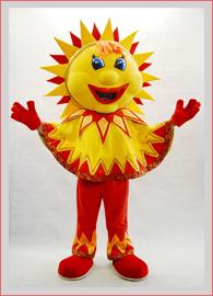 Ростовая кукла солнце